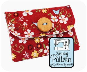 Image of Basic Wallet PDF Sewing Pattern