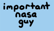 "Image of ""important nasa guy"" T-shirt"