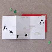 "Image of ""Penguins"" Holiday Card"