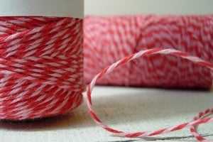 Image of SALE Valentine's Bakers Twine {Strawberry Cupcake Timeless Twine™}