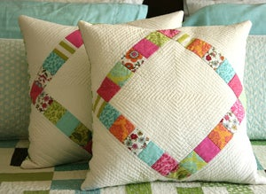 Image of diamond pillow pattern-PDF