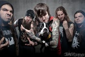 Image of Suicide Silence and parker - Legacy Metallic Print