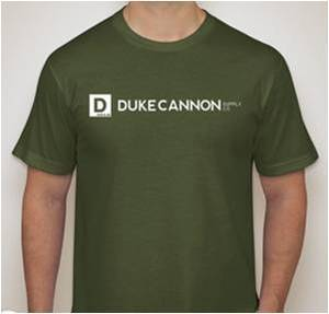 Duke Cannon Army Green T‐Shirt