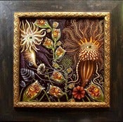 Image of &quot;ZoOids&quot; ~ Mounted &amp; Framed Limited Signed Edition