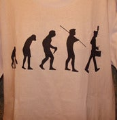 "Image of Band Geek ""Evolution"" WHITE TEE"