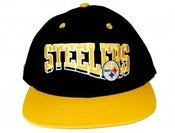 Image of STEELERS SNAPBACK  NFL VINTAGE WAVE