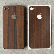 Image of iPhone 4 Wooden Back Protection