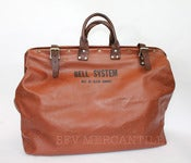 Image of Vintage BELL SYSTEM Repairman's Tool Bag 