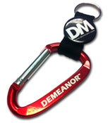 Image of Demeanor Carabiner Strap Keychain