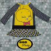 Image of Tweety Bird Dress - Size 2T
