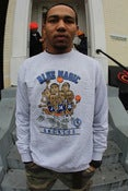 Image of BLUE MAGIC crew neck heather grey