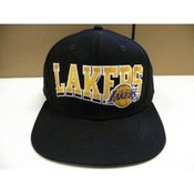 Image of LAKERS ADIDAS  BLACK ANDPURPLE SNAPBACK