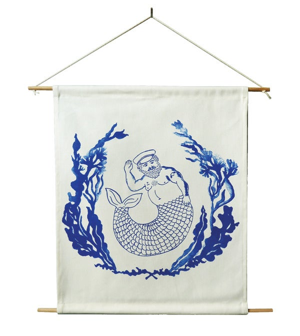 Image of MR MERMAN WALL HANGING