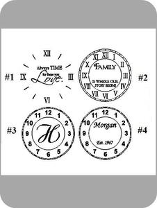 Image of Clocks Cont. {Personalized}