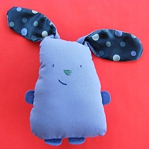 Image of Bunny Softie sewing pattern PDF
