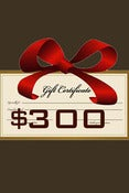 Image of Gift Certificate $300