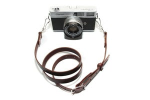 Image of Oliver Camera Strap - Mahogany