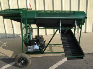 Image of Trommel Classifier High Banker Green Giant for Gold Mining