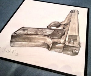 Image of HANDGUN ORIGINAL by Scott King