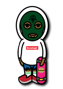 Image of Tyler The Creator X Bonelogic sticker. 