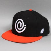 Image of C Symbol Snapback Orange/Black