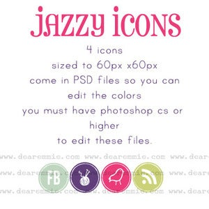 Image of jazzy icons