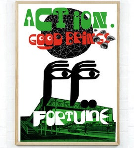 Image of Action Brings Good Fortune
