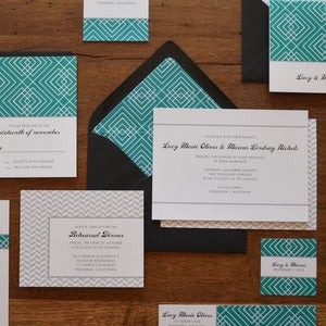 Image of Soiree Weddding Invitations