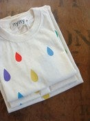 Image of 'Rainbow drop' cotton T-shirt