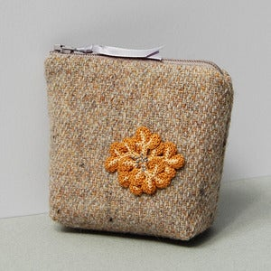 Image of Genuine Harris tweed coin purse