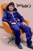 Image of You're Hooked Blue Onesie