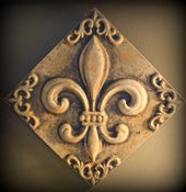 Image of New Craft Product - Fleur de lis Plaque