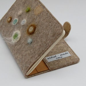 Image of Felt cover for moleskine pocket notebook
