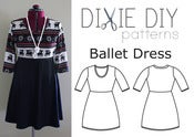 Image of Ballet Dress Pattern