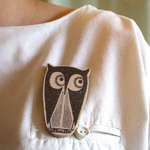 Image of Tito The Owl Brooch