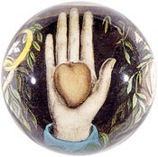 Image of Heart in Hand Paperweight