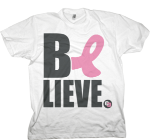 Image of Grey + Pink 2010/2011 BELiEVE Shirt