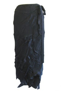 Image of Chaos Pleated Wrap Skirt
