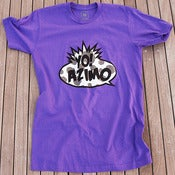 Image of YO! AZIMO S/S - PURPLE