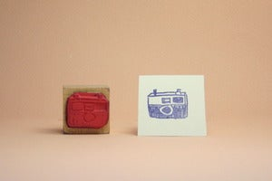 Image of Small Object Snapshot Camera stamp