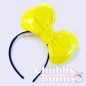 Image of Not-So-Mellow Yellow Vinyl Bow
