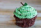Image of Mint Chip Cupcake