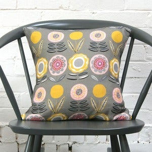 Image of Lollipop Khaki Scatter Cushion