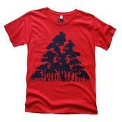 Image of The Wood for the Trees - Women's Red/de Mujer en Rojo