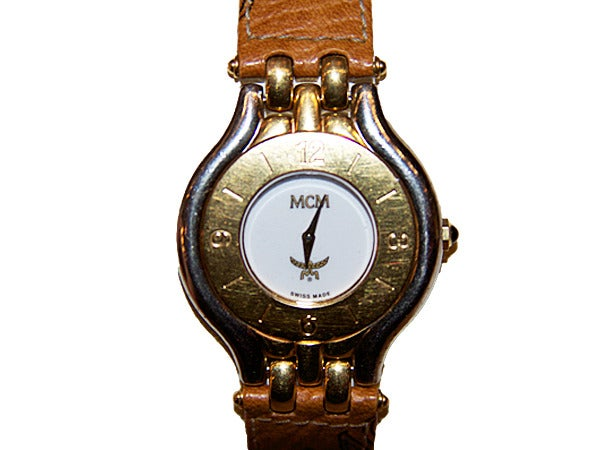 Image of Rare Vintage MCM Women's Watch designed by founder Michael Cromer