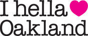 "Image of ""I hella Love Oakland"" - Women""s Tee-white"