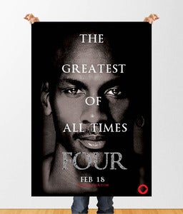 Image of Power of Four: G.O.A.T Movie Poster