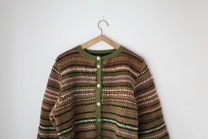 Image of 1970s multi colour cardigan {SOLD}