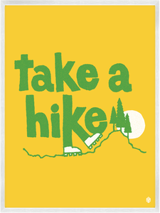 Image of Take A Hike Print