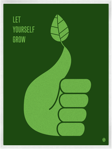 Image of Let Yourself Grow Print